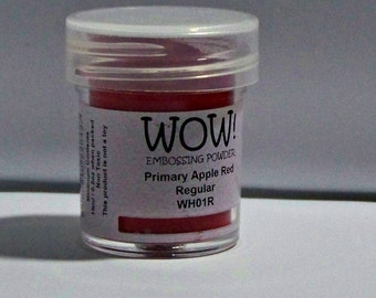 WOW Embossing Powder Primary  APPLE RED
