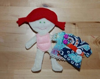 Piper Felt Paper Doll