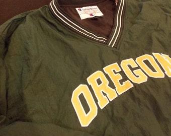 Vintage Oregon Ducks Men's XXL Pullover by Champion, 2X