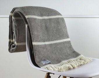 grey and natural beige throw blanket 100 percent wool grey sofa throw grey