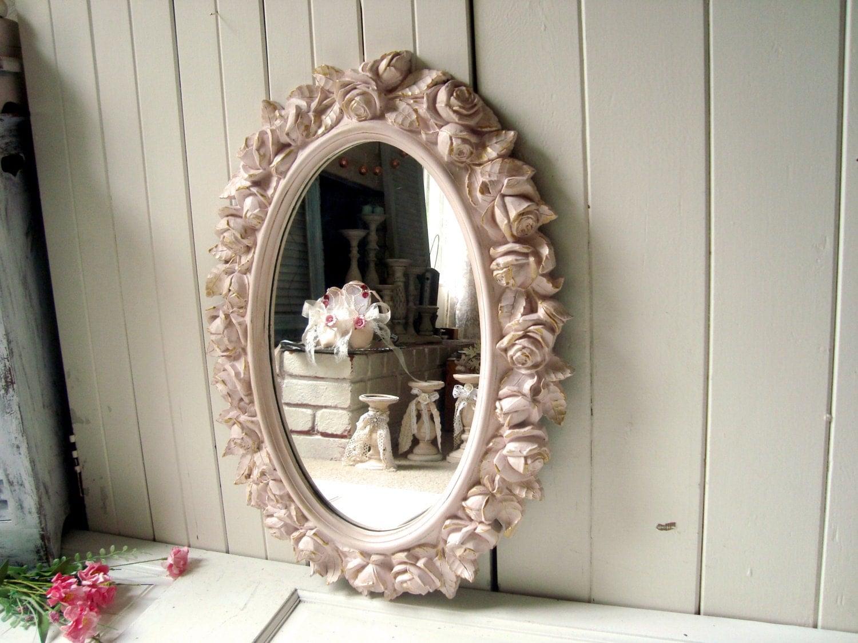 Рама для зеркала шебби шик своими руками
