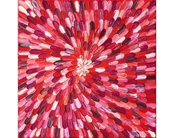"""Acrylic Painting Large Original Modern Abstract Texture  Palette Knife """"LOLLI""""."""