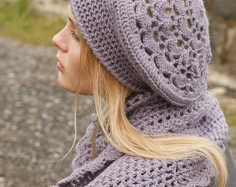 handmade hat, scarf, wool, CHOOSE SET and COLOR