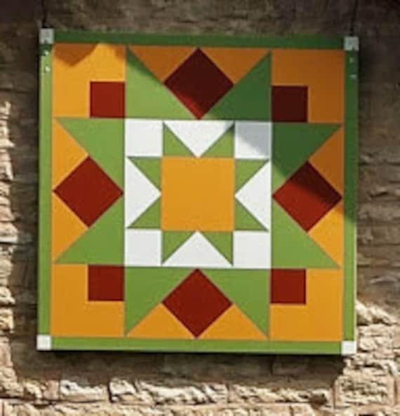 Barn Quilt Early Riser Barn Art Painted Quilt Blockstunning