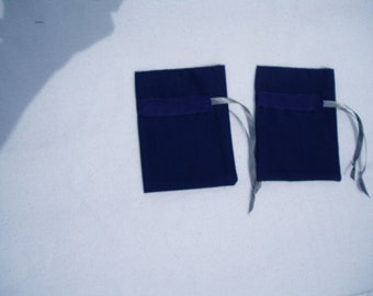 Jewelry/Lingerie bags, set of two, travel bags