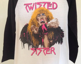 Twisted Sister 1984 concert t-shirt