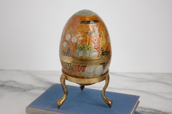 Cloisonne Egg Box