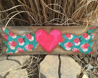 Gypsy Heart Wood Sign