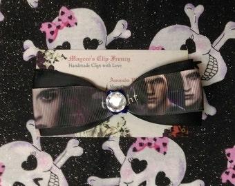 Twilight inspired Hair Bow