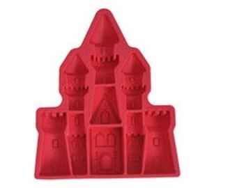 Castle Mold, Princess Palace Silicone Mold
