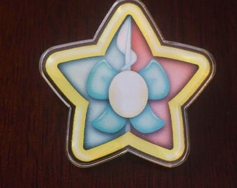 Pearl Star Pin