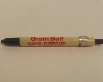 Free Shipping!! Grain Belt Talking Scoreboard Marking Pencil