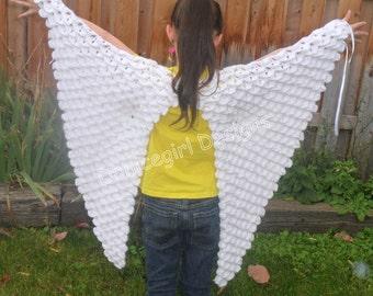 Bird Wings Costume Crochet Pattern