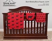 Personalized Show Heifer Baby Gift Set - blanket, burp cloth and bib - farm nursery, livestock baby shower gift