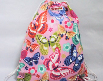 Girl's Butterfly Bag, Backpack, Nursery, Rucksack, Dance Bag