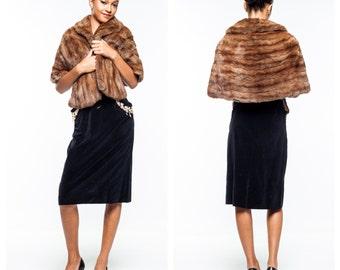 Vintage Fur Wrap