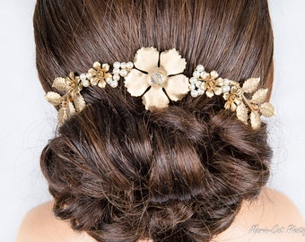 """Jewelry-Wedding comb """"Julie"""" for wedding, ceremony or any other event"""