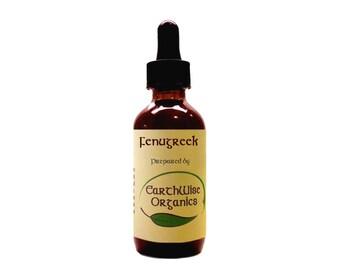 Fenugreek Herbal Tincture Extract Herbalist Prepared from Certified Organic Herbs
