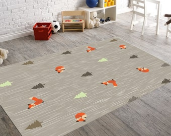 Baby Boy Room Rugs Animal Rug  Etsy