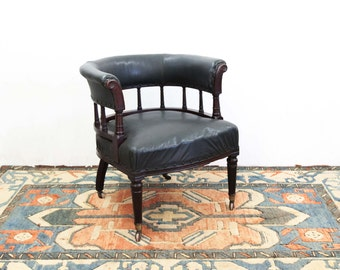 English Hoop Back Gallery Arm Chair