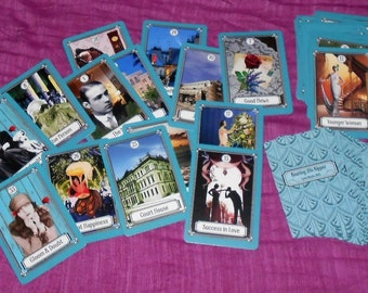 Roaring 20s Kipper Fortune Telling Cards. Brand New. Self Published.