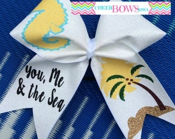 SEAHORSE Beach Bow - ONLY 1 availabe - READY to ship now