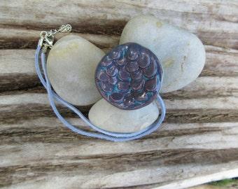 Scales Pendant Necklace