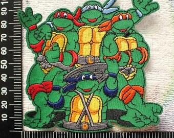 Teenage Mutant Ninja Turtles Patches Sew on Iron on Applique CD158