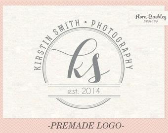 Custom Logo Design Premade Logo and Watermark - FB112
