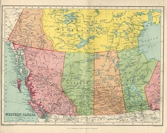Map Of UNITED STATES America S Atlas Antique Map United - Us map 1922