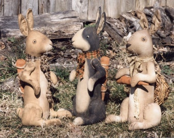 Primitve E-PATTERN Velveteen Rabbits