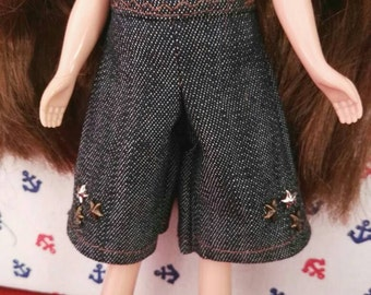 Blythe Doll Outfit Clothing Blue pants