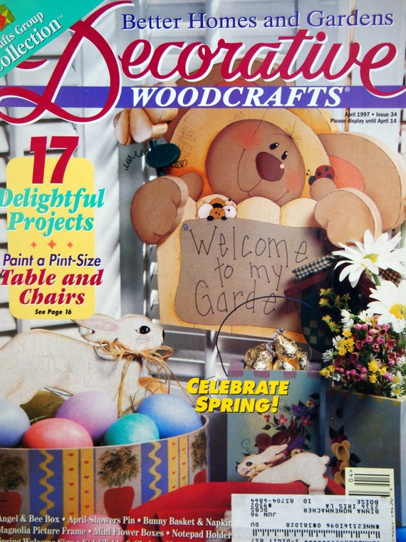 Decorative Woodcrafts By Better Homes And Gardens Tole And