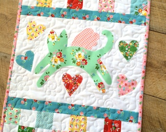 Mini Kitty PDF Quilt Pattern