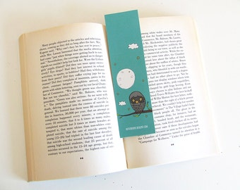 Bookmark Owl 1 - Owl Collection