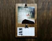 Personalized 2016 Desktop Clipboard Calendar