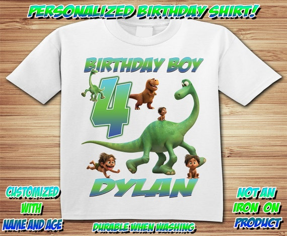 Personalized The Good Dinosaur Birthday Shirt - tshirt custom