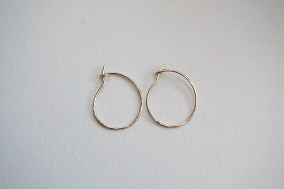 small thin gold hoop earrings small gold hoop earrings 75 inch thin small hoop 6649