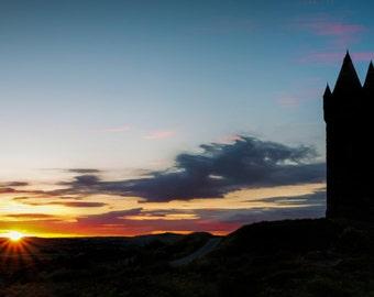 Fine Art Photography, Ireland, Scrabo Sunset
