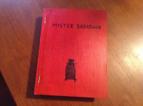FAKE Wooden BaBaDOOK Book by animecuriosity on Etsy