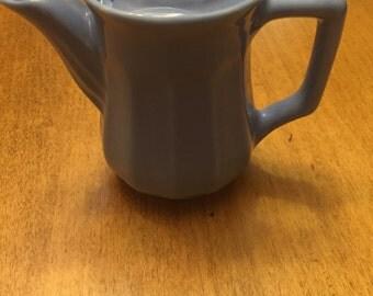 Vintage Periwinkle Gala Teapot Individual Size