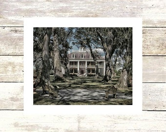 PLANTATIONS - Houmas House-Mississippi River Road Plantations - Fine Art Photograph-Limited edition of 250