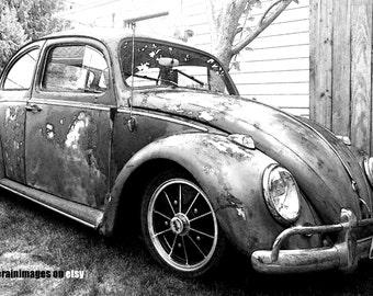 Dayz Of Old, VW Bug, VW Beetle, Car Art, Car Photography