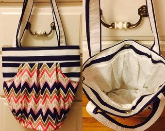 Pleated shoulder bag handbag custom made