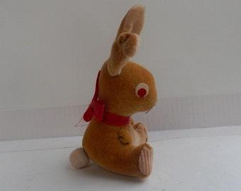 Small Vintage ~ Velveteen Stuffed Rabbit ~