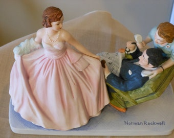 Sweet Sixteen The Norman Rockwell American Family Series Figurine (1979)