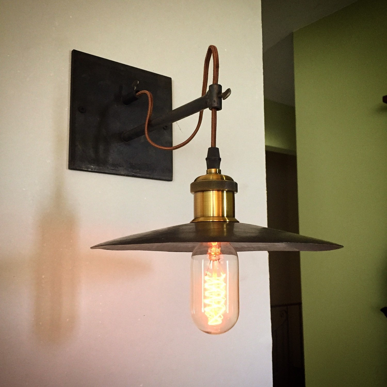 Industrial Light Hangers: Industrial Hanging Pendant Sconce Light