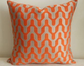 Marmalade designer fabric by Trend pillow cover,throw pillow ,accent pillow,decorative pillow,same fabric front and back.