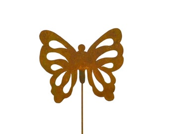 Butterfly Metal Garden Stake, Yard Art GS36