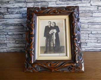 A Vintage French Photo Frame
